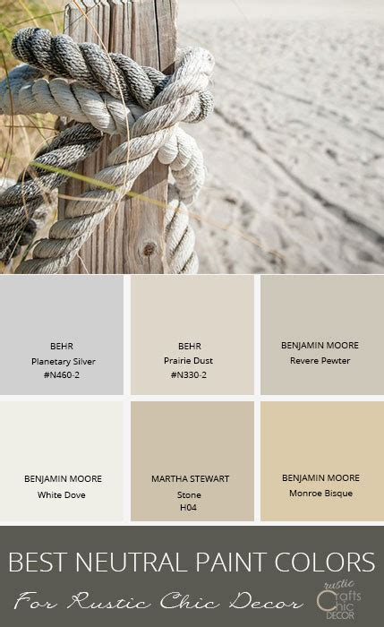 Best Neutral Interior Paint Colors The Best Neutral Paint Colors To Enhance Your Rustic Style