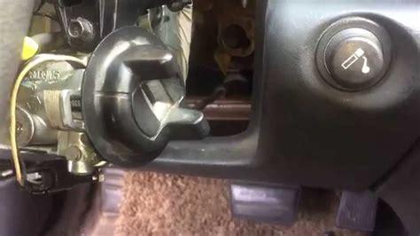 Removing Door Lock Cylinder 2004 Chevrolet Cavalier