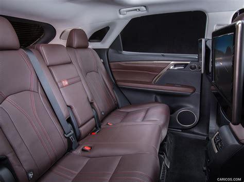 lexus rx 2016 interior back seat 2016 lexus rx 450h hybrid interior rear seats hd