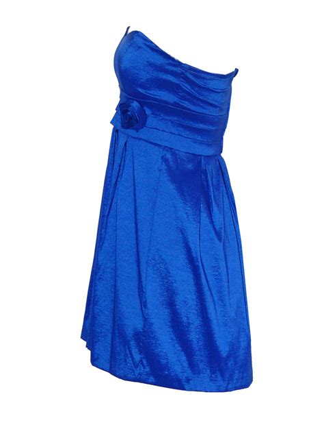royal blue dresses royal blue strapless sweetheart taffeta dress
