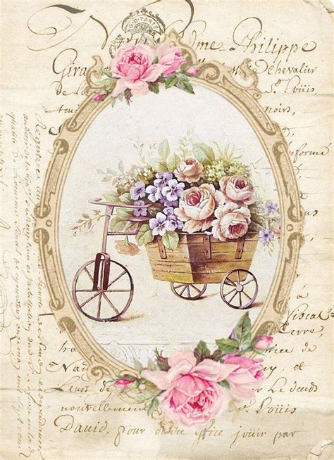 Vintage Decoupage - top 25 best decoupage vintage ideas on