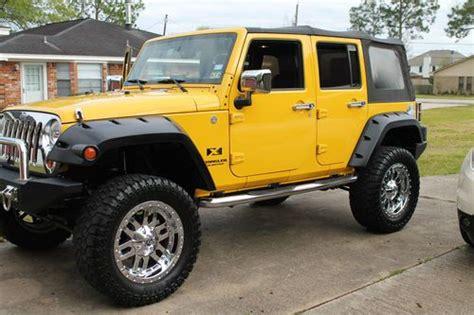 2007 4 Door Jeep Wrangler Find Used 2007 Jeep Wrangler Unlimited X Sport Utility 4