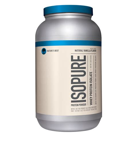 b protein flavours nature s best isopure protein powder 100