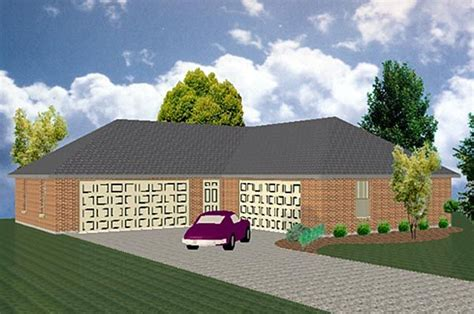 l shaped garage plans l shaped can hold 4 6 cars garage plan chp 39956 at coolhouseplans garage styles