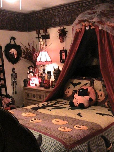 halloween bedroom decorating ideas 3 creative way for interior halloween decorations ideas