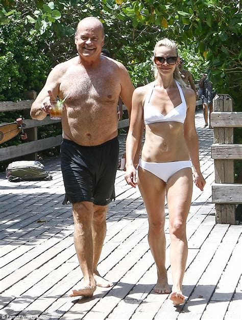 younger boys and women 60 year what s in an age gap kelsey grammer hits beach with wife