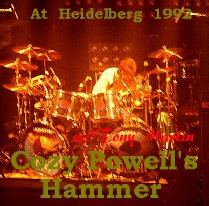 Tony Get Cozy South Of The Border by Live Bootoleg Archives Cozy Powell