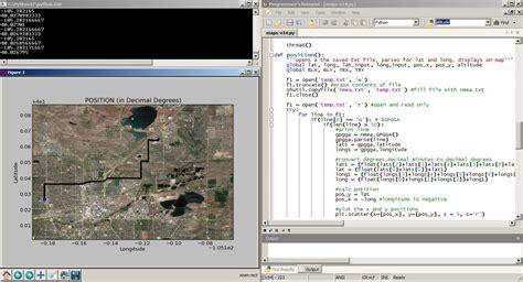 tutorial python signal python and gps tracking sparkfun electronics