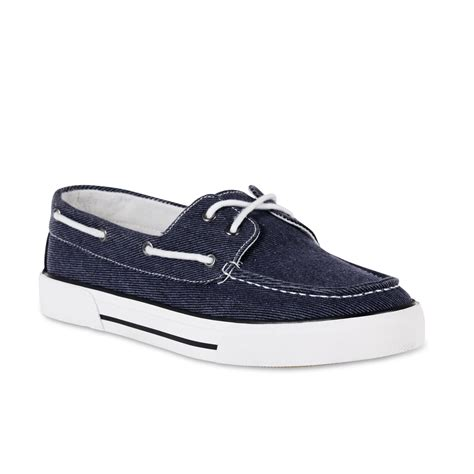 boat shoes canvas thom mcan men s foster canvas boat shoe navy
