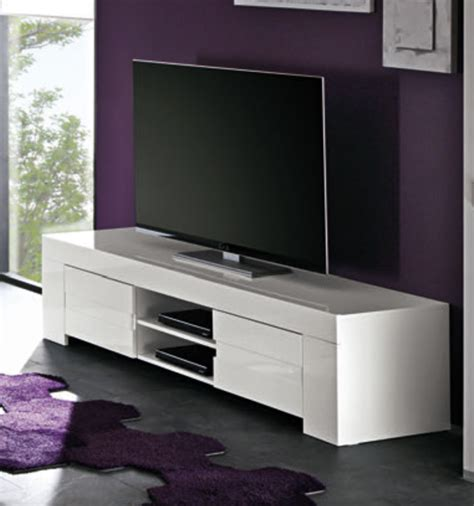Merveilleux Meuble Tv Hifi Blanc Laque #1: Meubles-tv-hifi-messina-laque-blanc-laque-blanc-l-191-x-h-45-x-p-50.jpg