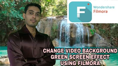 wondershare filmora green screen tutorial hindi how to edit green screen using filmora wondershare