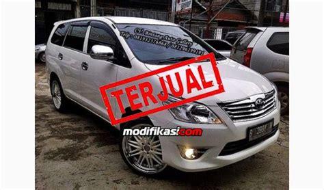 Kaca Spion Kijang Warna jual toyota kijang innova model g 2012 type j putih m t