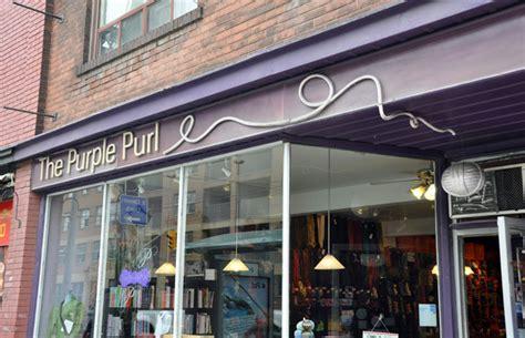the neighbourhood of queen street east gallery the purple purl