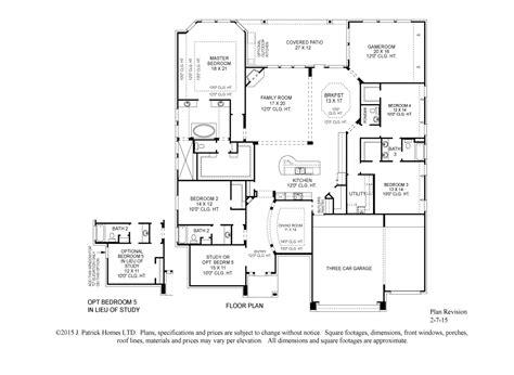Homes With Floor Plans print brochure