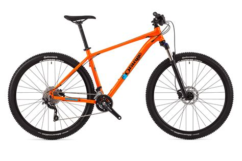orange cycling clockwork 100 orange mountain bikes