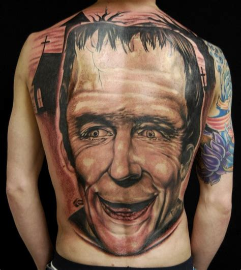 tattoo gallery north olmsted ohio herman monster by ross lloyd tattoonow