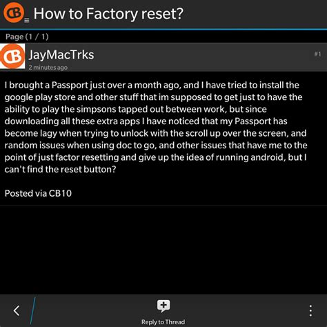 reset my blackberry to factory settings how to factory reset blackberry forums at crackberry com