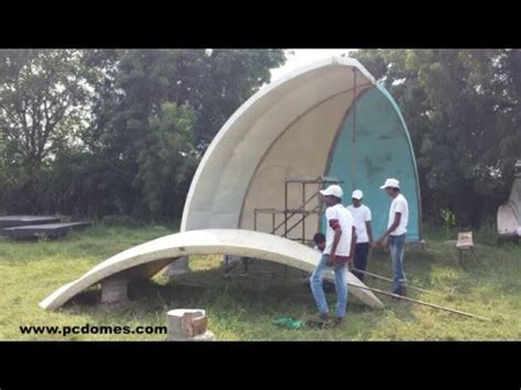 expanded polystyrene made dome house expanded polystyrene made dome house youtube hoş