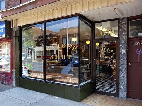 Cermin Barbershop cara desain 18 inspirasi interior tempat pangkas rambut