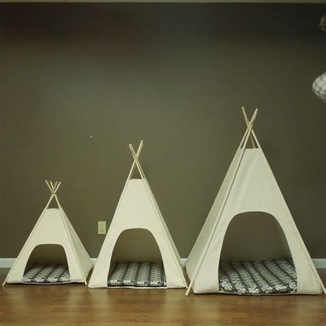 puppy tent large teepee pet tent 36 base canvas