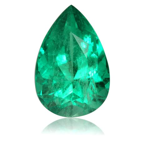 loose colombian emerald pear ct king stone gems