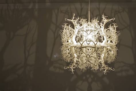 nature chandelier thyra hilden and pio diaz artists created the coolest