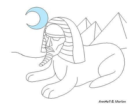 imagenes egipcias dibujos esfinge para dibujar imagui