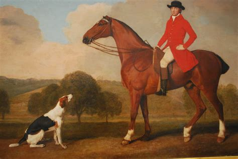 Horse man dog two nottingham paintings gwallter