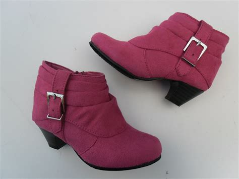 toddler boots shoes size 5 8 fuchsia ebay