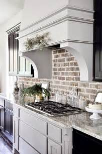 brick backsplash in kitchen best 25 kitchen backsplash ideas on