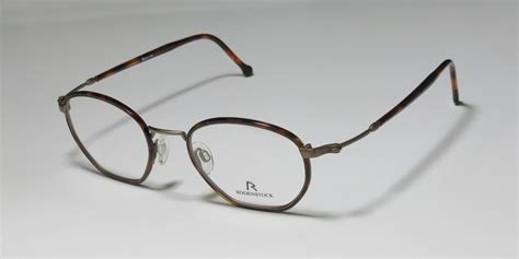 Frame Original Rodenstock Brown new rodenstock r2465 brown gold colors womens mens