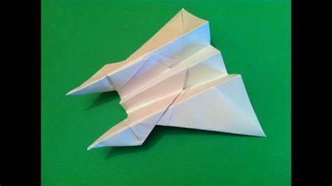 How To Make A Cool Easy Paper Airplane - the best paper airplane tutorial how to make the dive