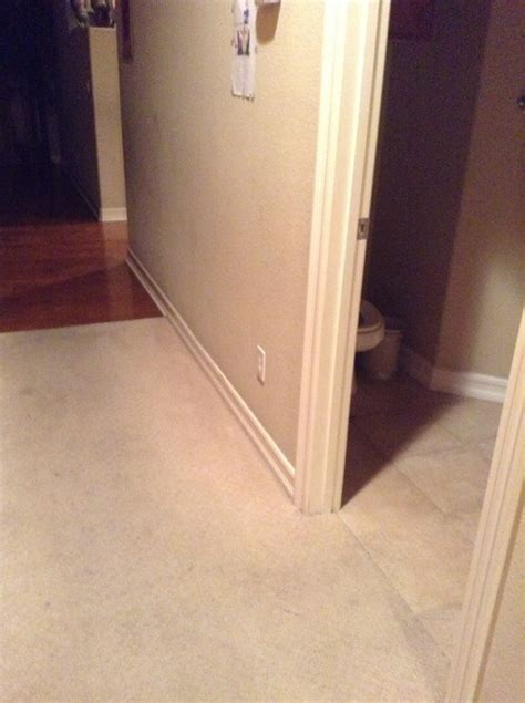 hall bathroom tiles should hallway tile transition into bathrooms and laundry room