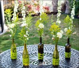 How To Make Flower Vase Using Plastic Bottle Wedding Centerpieces Using Wine Bottles