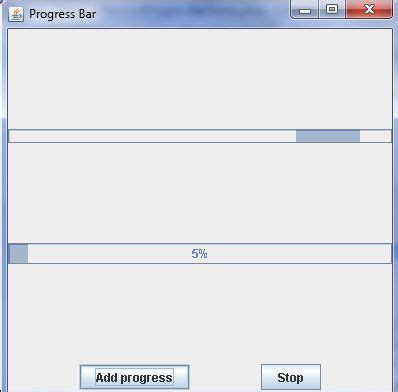 java swing progress bar progress bar in java swing library free source code