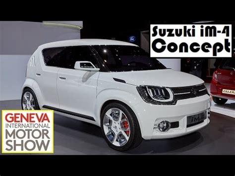 Suzuki Im Suzuki Im 4 Concept Live Photos At 2015 Geneva Motor Show