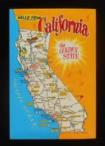 map of california landmarks deboomfotografie
