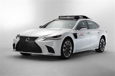 Toyota 2020 Autonomous Driving by Toyota To Show P4 Autonomous Car Based On The Lexus Ls At