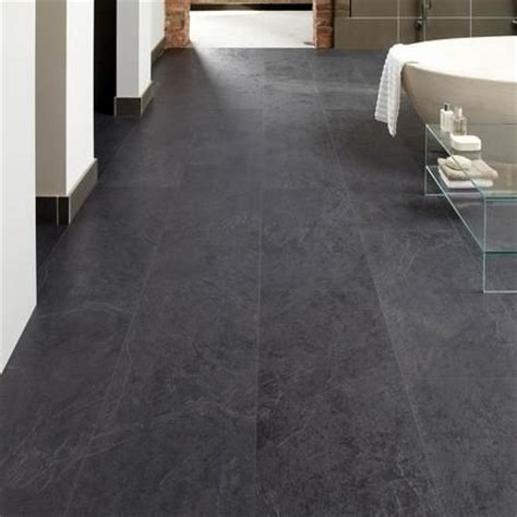 black laminate flooring for bathrooms basalt slate howdens professional fast fit v goove tiles