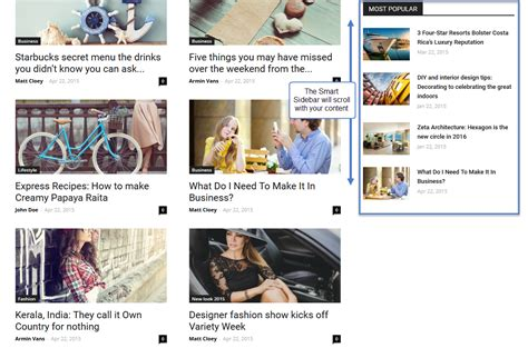 newspaper theme sidebar newspaper theme how to create a really smart sidebar