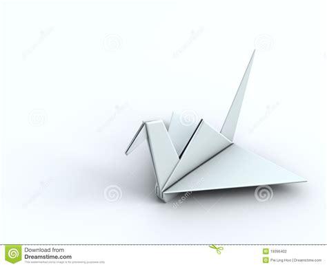 Origami Concept - peace concept origami crane paper bird stock photography