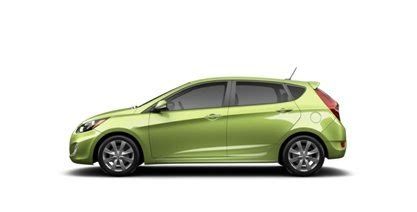 hyundai accent color choices in 2015