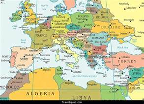 Current Map Of Europe by Map Of Europe Current Travel Holiday Map