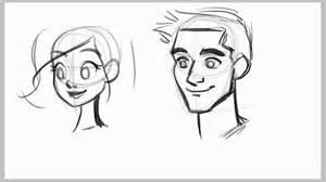 How to draw male faces ezdrawz tutorial youtube