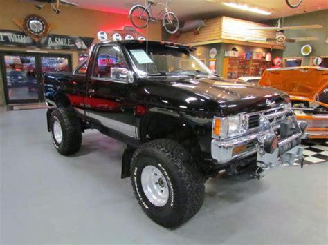1994 nissan hardbody 1994 nissan hardbody 4x4 lifted factory black low