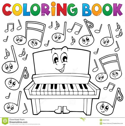 coloring book review song by song coloring book theme image 1 stock vector image