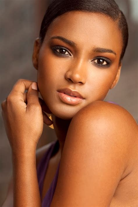 Pretty Toned by Shoot Miss Universe 2011 Leila Lopes By Ken Pao