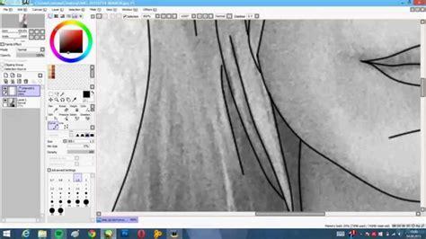 paint tool sai outline tutorial outline tutorial paint tool sai
