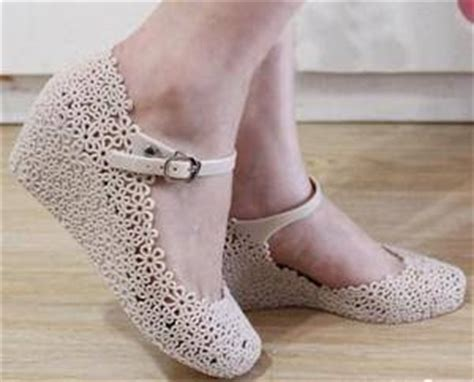 Sepatu Karet Wanita Cewek Flat Jelly Shoes Simply Gradient Murah sepatu dan sandal karet cewek murah