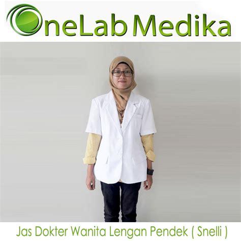 Jas Dokter Pria Lengan Panjang Snelli jas dokter wanita lengan pendek snelli onelab medika